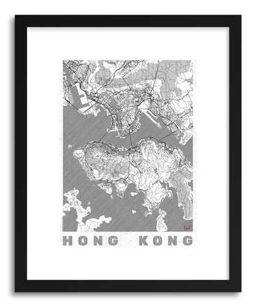 Art print LICH Hong Kong by artist Hubert Roguski