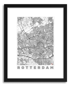 Art print LINERotterdam by artist Hubert Roguski