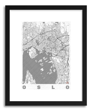 Art print LINO Oslo by artist Hubert Roguski