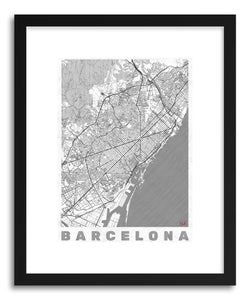 Art print LISP Barcelona by artist Hubert Roguski