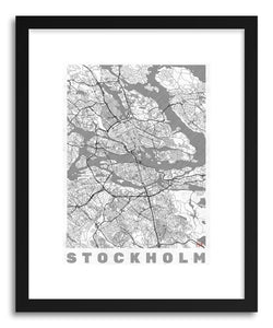 Art print LISW Stockholm by artist Hubert Roguski