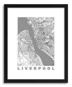 Art print LIUK Liverpool by artist Hubert Roguski