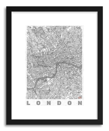 Art print LIUK London by artist Hubert Roguski