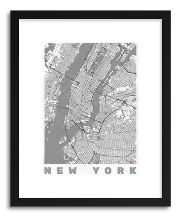 Art print LIUS New York by artist Hubert Roguski