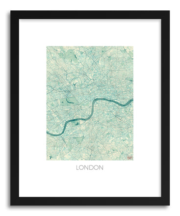Art print London by artist Hubert Roguski