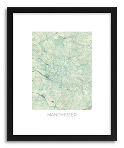 Art print Manchester by artist Hubert Roguski