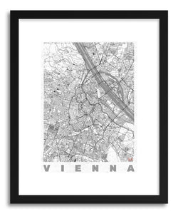 Art print AU Vienna by artist Hubert Roguski