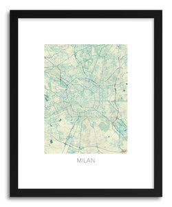 Art print Milan by artist Hubert Roguski