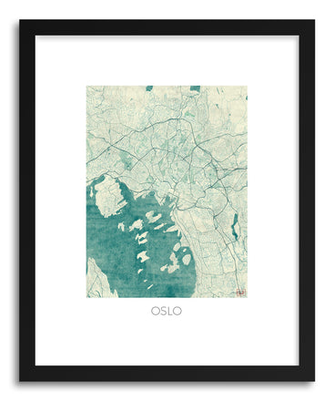 Art print Oslo by artist Hubert Roguski
