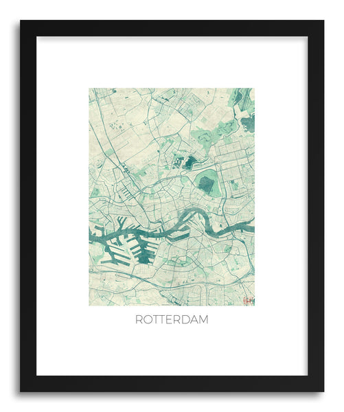 Art print Rotterdam by artist Hubert Roguski
