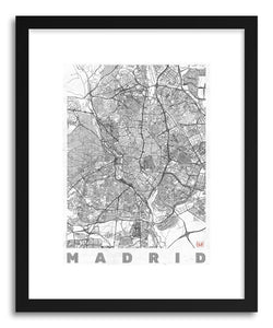 Art print SP Madrid by artist Hubert Roguski