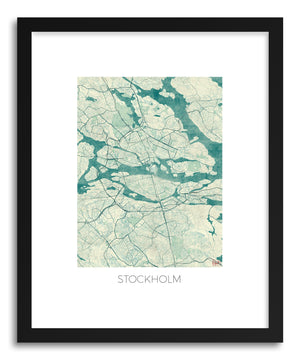Art print Stockholm by artist Hubert Roguski