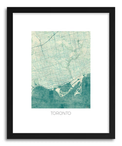 Art print Toronto by artist Hubert Roguski