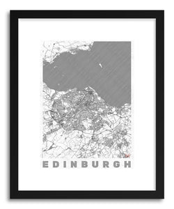 Art print UK Edinburgh by artist Hubert Roguski