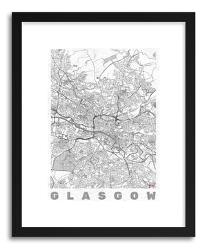 Art print UK Glasgow by artist Hubert Roguski
