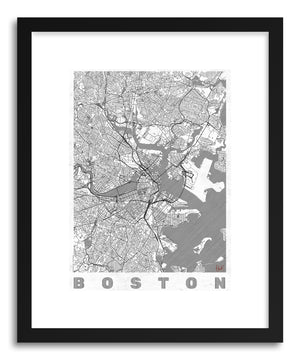 Art print US Boston by artist Hubert Roguski