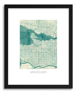 Art print Vancouver by artist Hubert Roguski