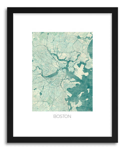Art print Boston by artist Hubert Roguski