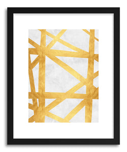 Fine art print Golden Expressionism I by artist Vitor Costa