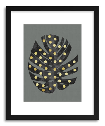 Fine art print Tropical and Golden II by artist Vitor Costa