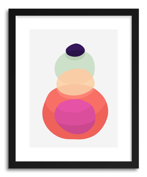 Fine art print Abstract IX by artist Vitor Costa