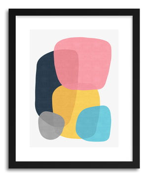 Fine art print Abstract VI by artist Vitor Costa