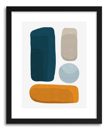 Fine art print Abstract VII by artist Vitor Costa