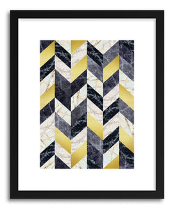 Art print Marble and Gold by artist Vitor Costa
