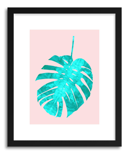 Art print Watercolor Tropical Leaf II by artist Vitor Costa