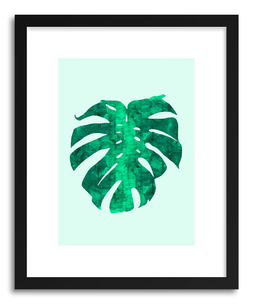 Art print Watercolor Tropical Leaf III by artist Vitor Costa