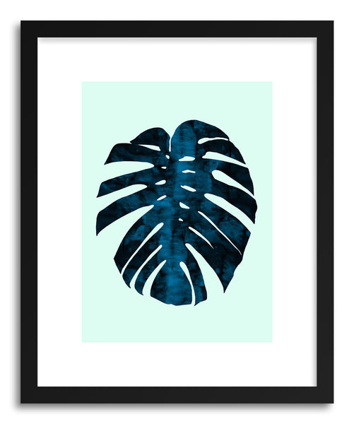 Art print Watercolor Tropical Leaf by artist Vitor Costa