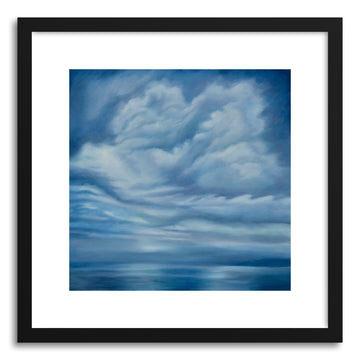 Art print Into the Blue by artist Kelly Money