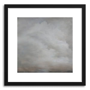 hide - Art print A break in the midst by artist Kelly Money in natural wood frame