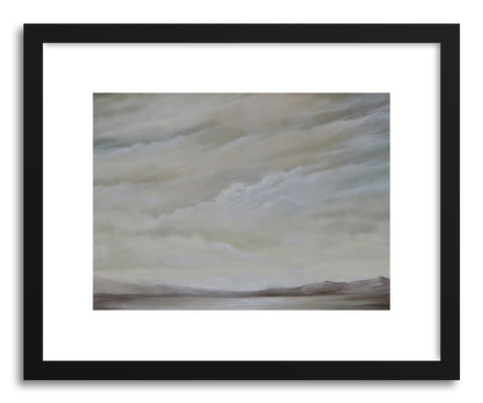 Art print The Flat Light of Morning by artist Kelly Money