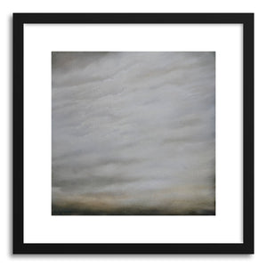 hide - Art print A Subtle Hint by artist Kelly Money in natural wood frame