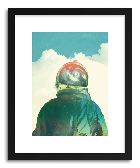 Art print God Is An Astronaut by artist Fran Rodriguez