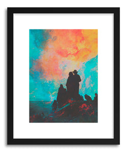 hide - Art print Pioneers by artist Fran Rodriguez on fine art paper