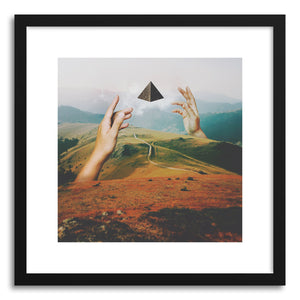 hide - Art print Portal by artist Fran Rodriguez in white frame