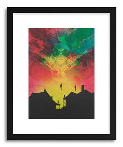 Art print Abducted by artist Fran Rodriguez