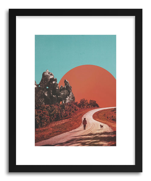 Art print The Walk by artist Fran Rodriguez