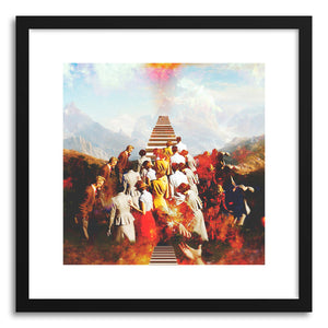 Art print Ascention by artist Fran Rodriguez