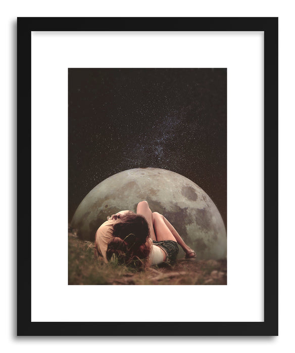 Art print Cosmic Love by artist Fran Rodriguez