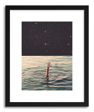 Art print Drowned in Space by artist Fran Rodriguez