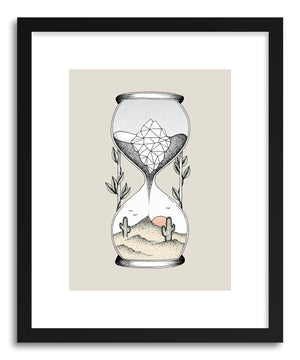 Fine art print Time Is RunnIng Out by artist Barlena Hollaus