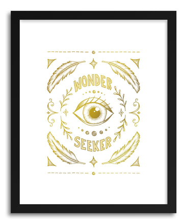 Fine art print Wonder Seeker by artist Barlena Hollaus