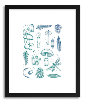Fine art print Enchanted Forest by artist Barlena Hollaus
