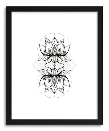 Fine art print Lotus Flower by artist Barlena Hollaus