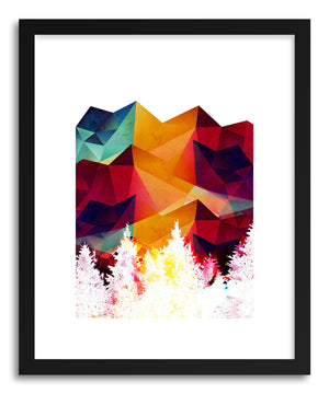 Fine art print Forest Made Off Color by artist Rui Faria