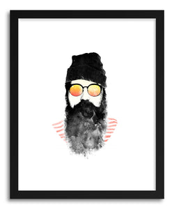 hide - Art Print Hipster by artist Rui Faria on fine art paper