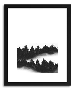 hide - Art Print Let It Snow by artist Rui Faria in white frame